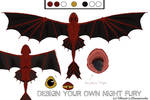 Fury- my night fury design