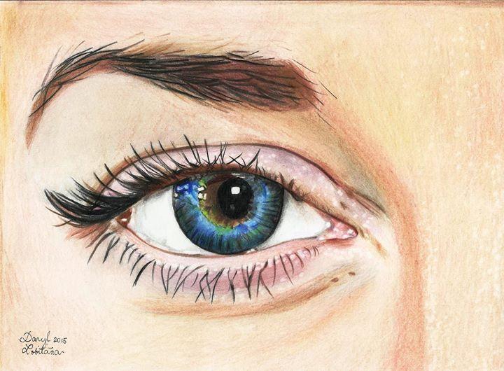 eye by Tomosakura