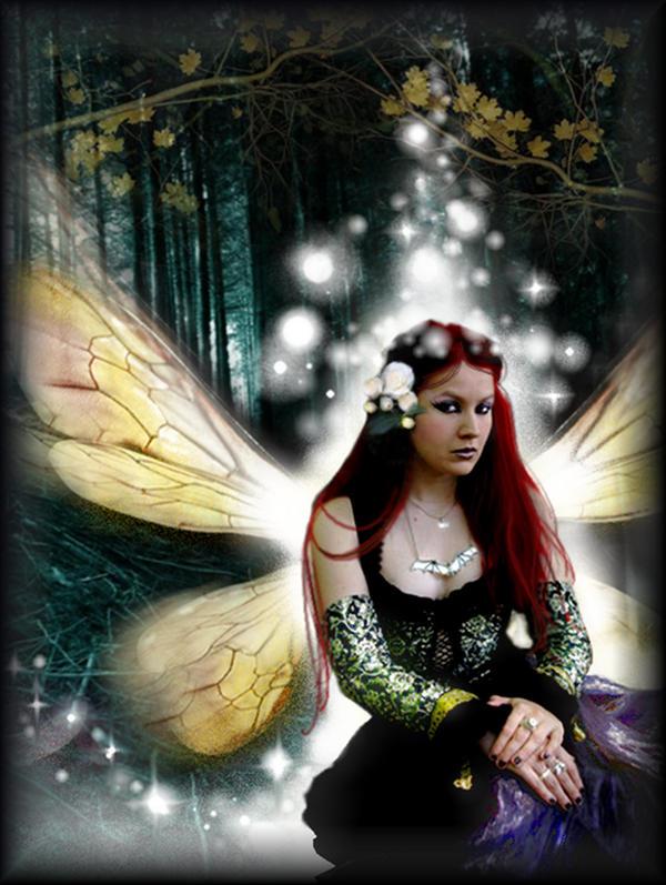 Mystic Faerie Tarot The World: Mystic Faerie By Acorncupcake On DeviantArt