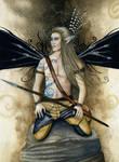Gothic Warrior pixie
