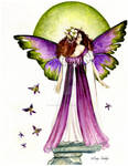 Faerie with Green Orb