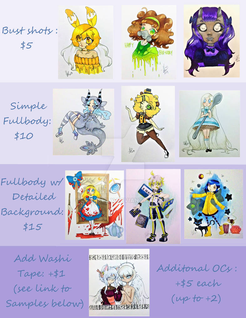 Colord semi cheeb commissions paypal SALE REOPENED
