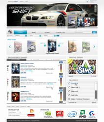 Gameshop design