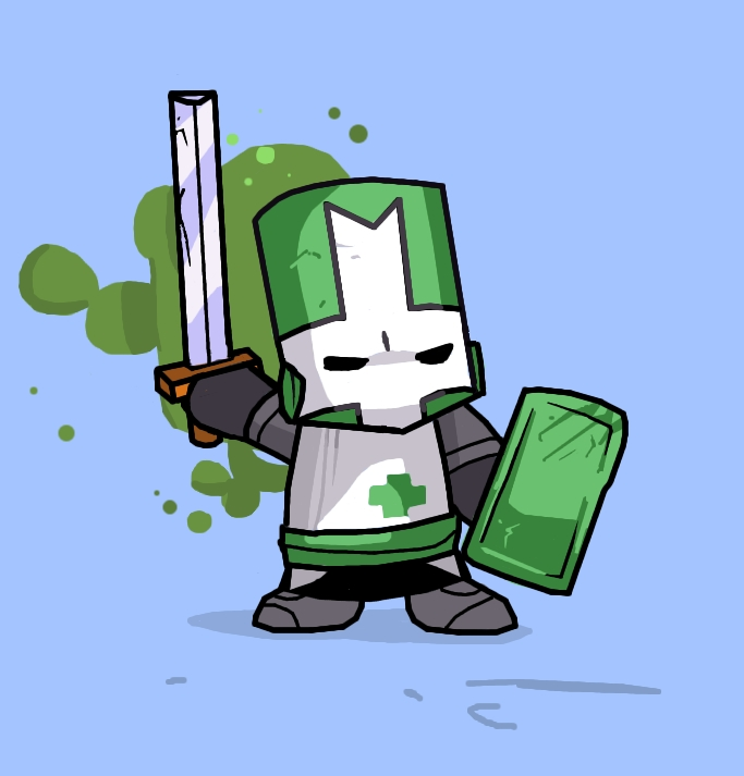 how to draw castle crashers knights