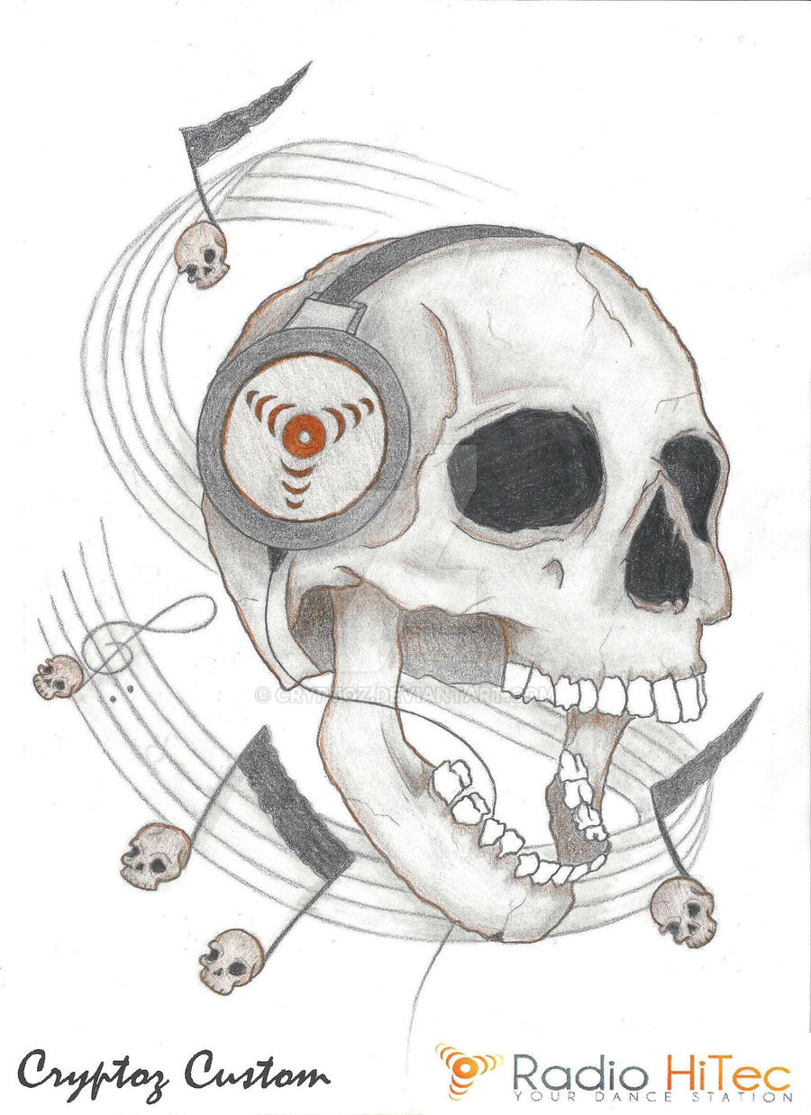 Skulls and Music, by CrYpToZ