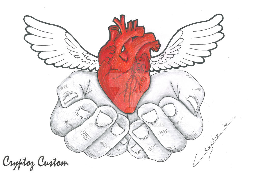 my heart holding it in my hands offering it to the ones who give my ...