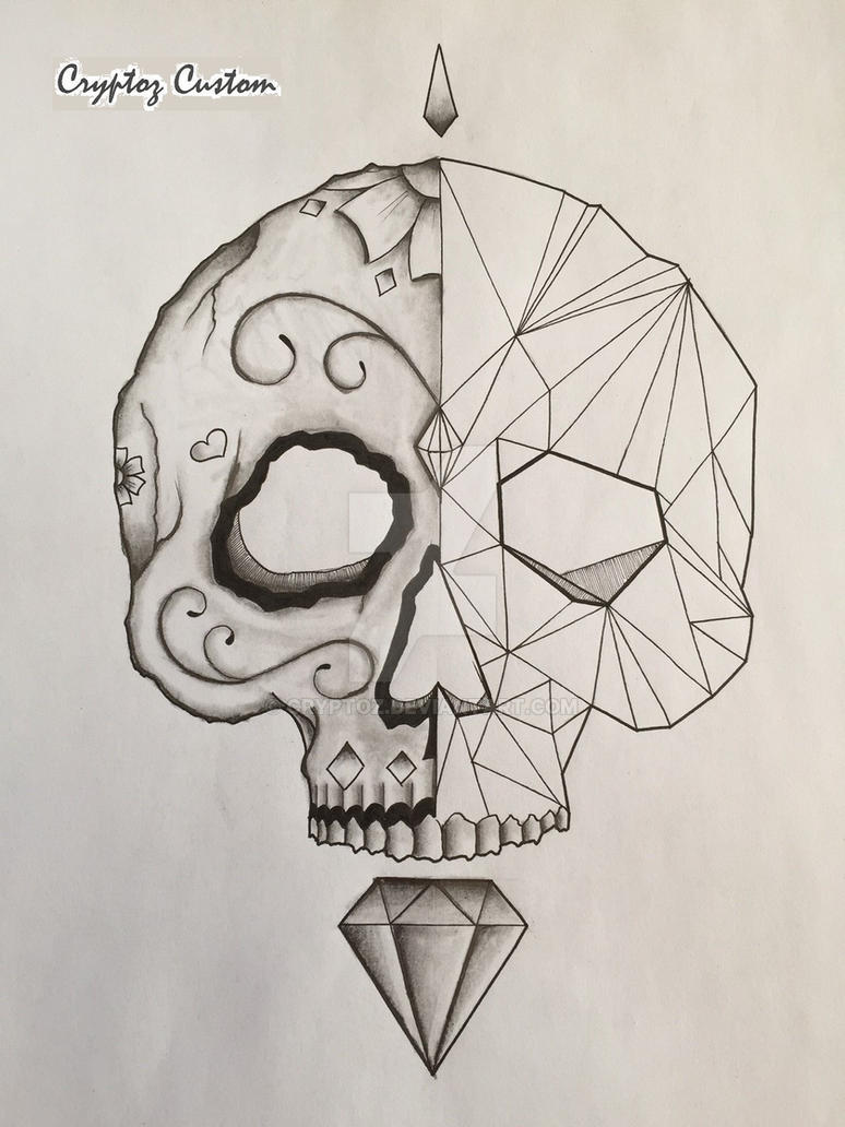 Geometric / DoD Skull by CrYpToZ