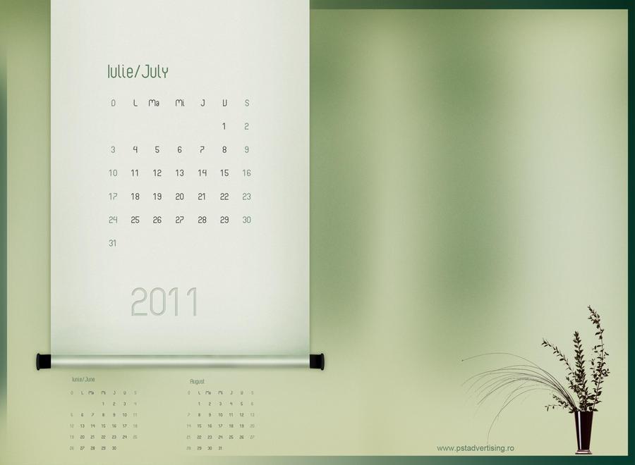 Calendar PSD Free