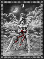 Tarot: Two of Swords by Doberlady
