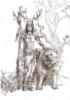Druid by Doberlady