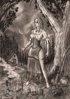 A witch by Doberlady