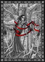 Tarot: Eight of Swords by Doberlady
