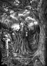 All Hallows Day by Doberlady