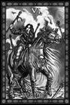 My Black Deck: Six of Wands