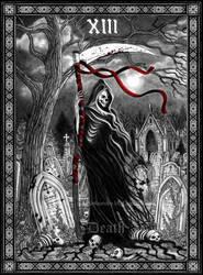 Tarot Death by Doberlady