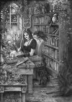 Witch Tales by Doberlady