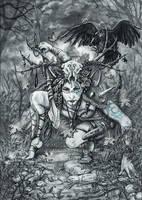 Grim Dawn: Shaman by Doberlady