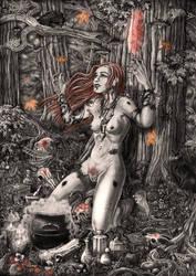 Witchcraft by Doberlady
