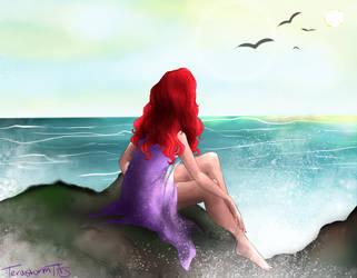 Ariel // The Little Mermaid - Ending gown by TeraStormTAS