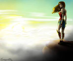 On the Peek - Wonder Woman