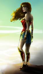 On the Peek - CLOSER - Wonder Woman