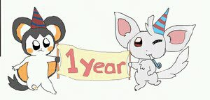 Throwback! 5 YEARS on deviant art TODAY! by kittenScientist