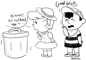 Good Grief, Lloyd! by kittenScientist