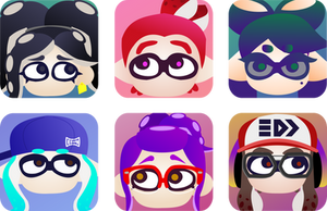 Splatoon Hero Icons [commissions available]
