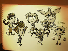 Don't Starve Sketches