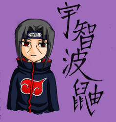 Chibified Itachi by lyricnote