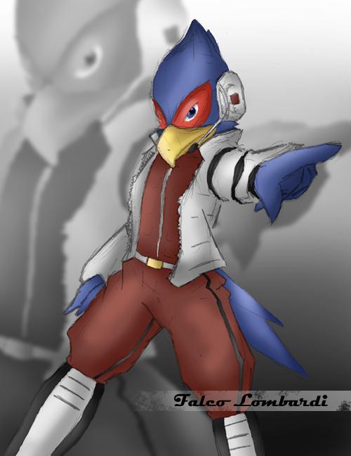 Starfox - Falco Lombardi by Poo-Fly