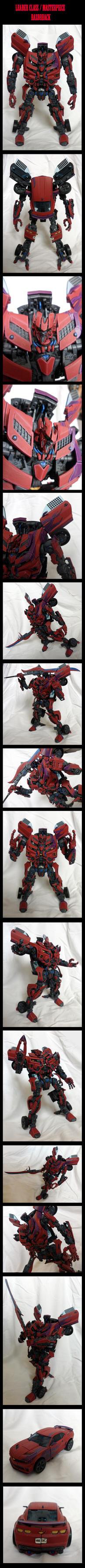 Leader Class / Masterpiece Razorback by Poo-Fly
