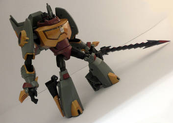 Animated grimlock - Closeup