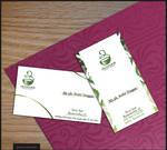 IRISFARM logo and b. card