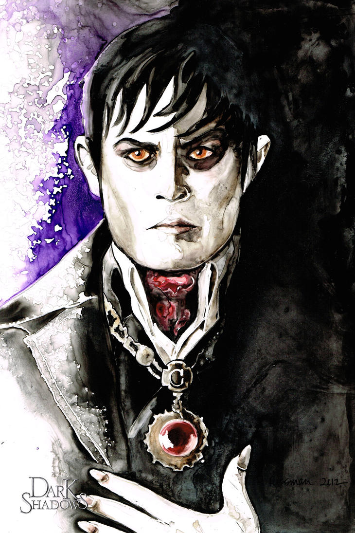 Barnabas Collins in Dark Shadows by RachaelRossman