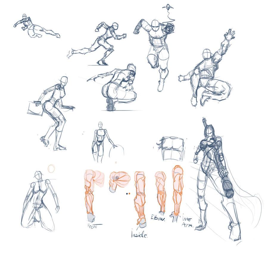 Dynamic Figure Drawing2 by BendikDraws on DeviantArt