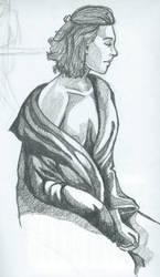 Model drawing in class by DollStudios