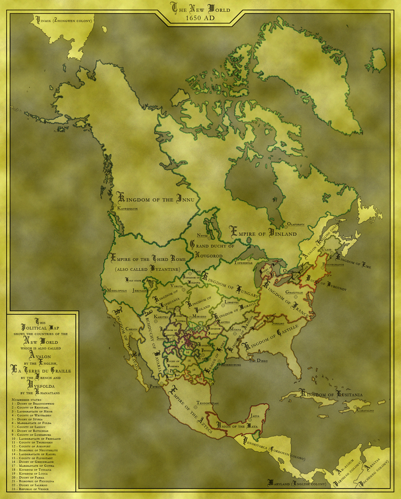 North America... or Europe? by Laiqua-lasse