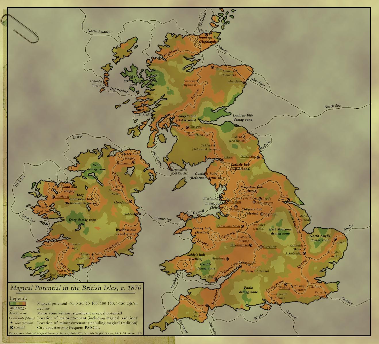 Magic in Britain by Laiqua-lasse