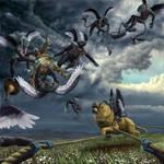 Winged Monkeys 2 by McLure