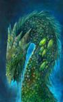 Green Gemstone Dragon