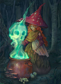 The Mushroom Witch