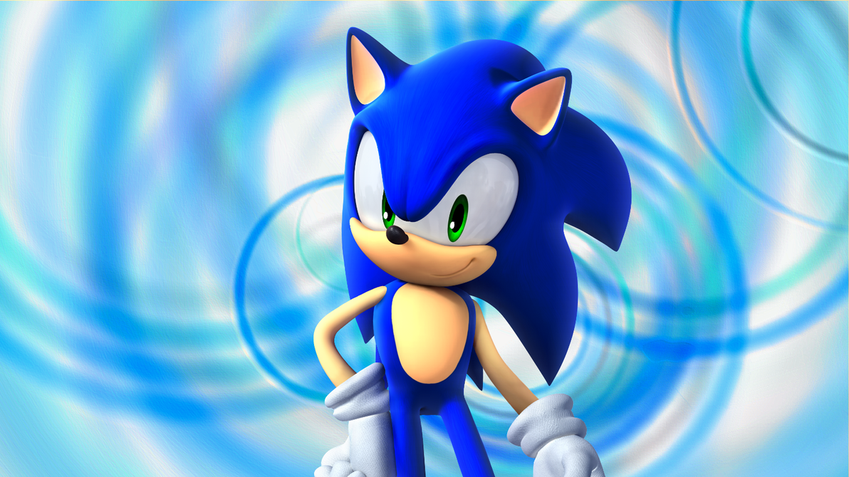 Sonic The Hedgehog Headshot Anti-Hack banner made by me