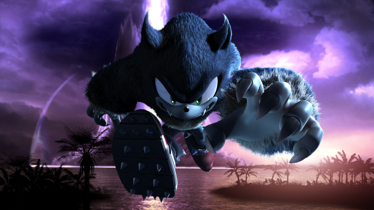 Sonic Unleashed Werehog By Light Rock