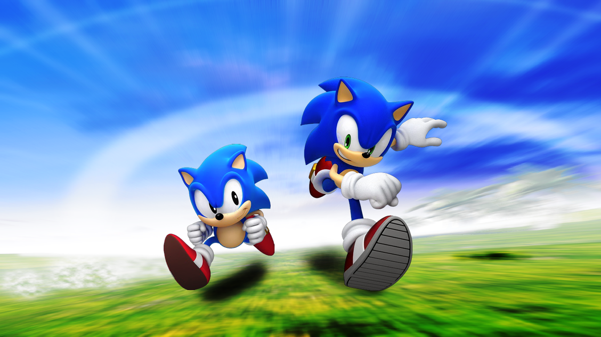 Classic and Modern Sonic by Light-Rock on DeviantArt