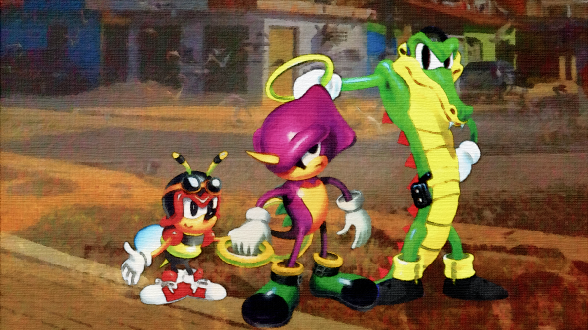 Team Chaotix(1996) by Light-Rock on DeviantArt