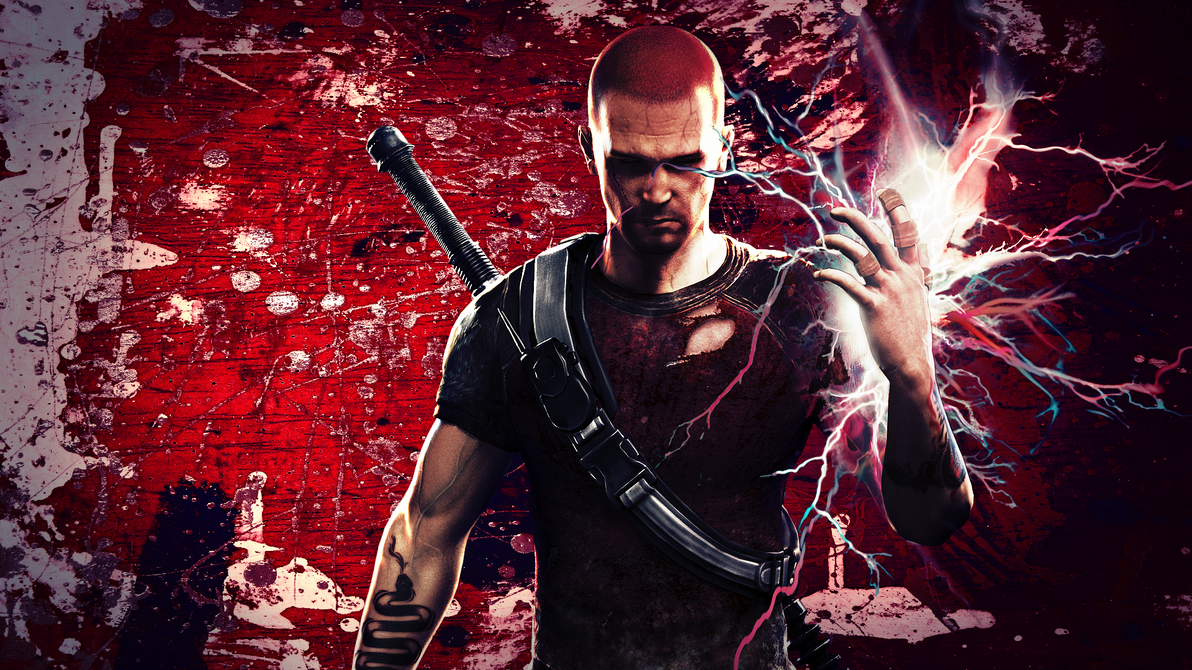 Infamous 2: Evil Cole[1] by Light-Rock on DeviantArt