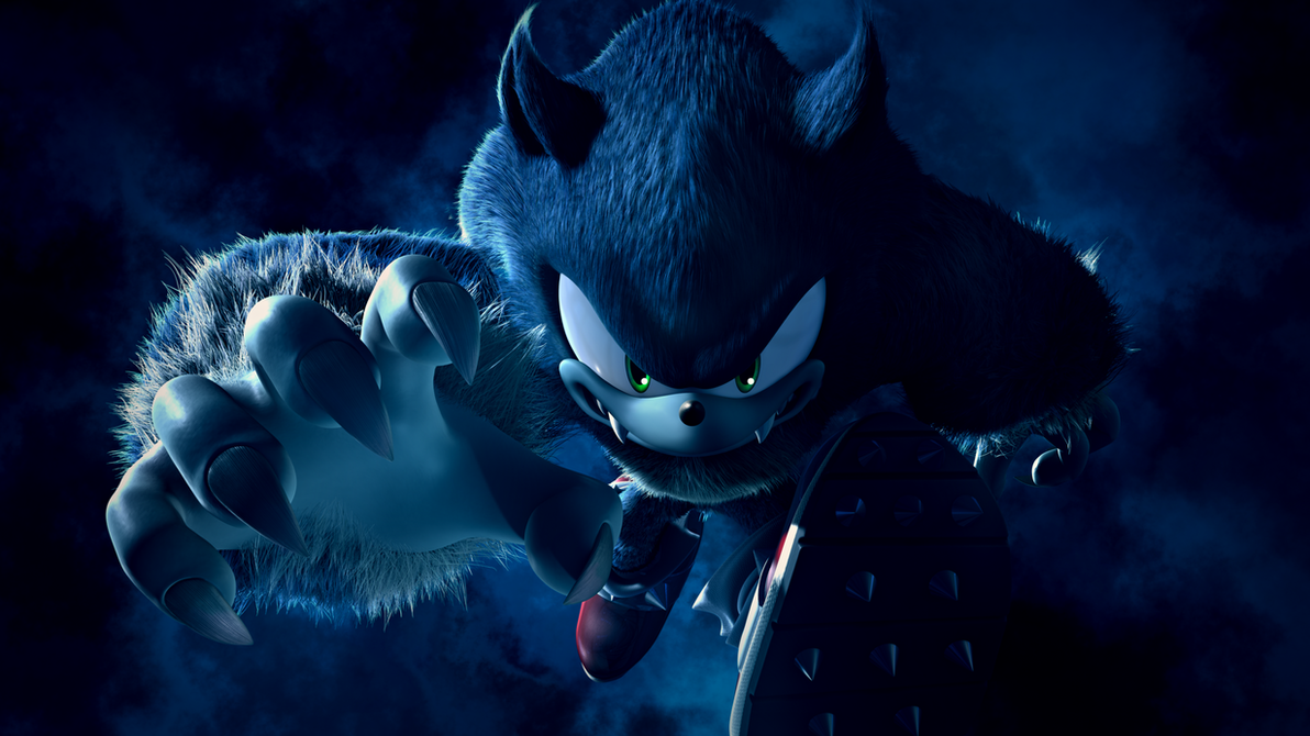 Sonic The Werehog1022 By Light Rock