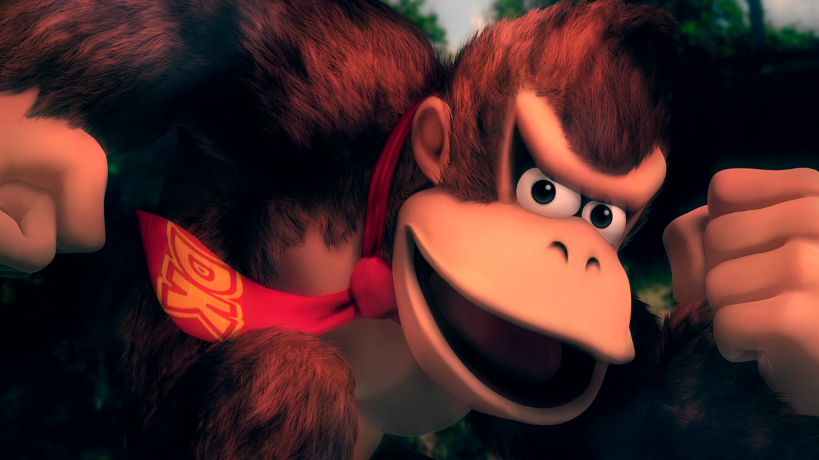 Super Smash Bros. U : Donkey Kong [1] by Light-Rock