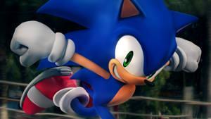 Super Smash Bros. U : Sonic [1]